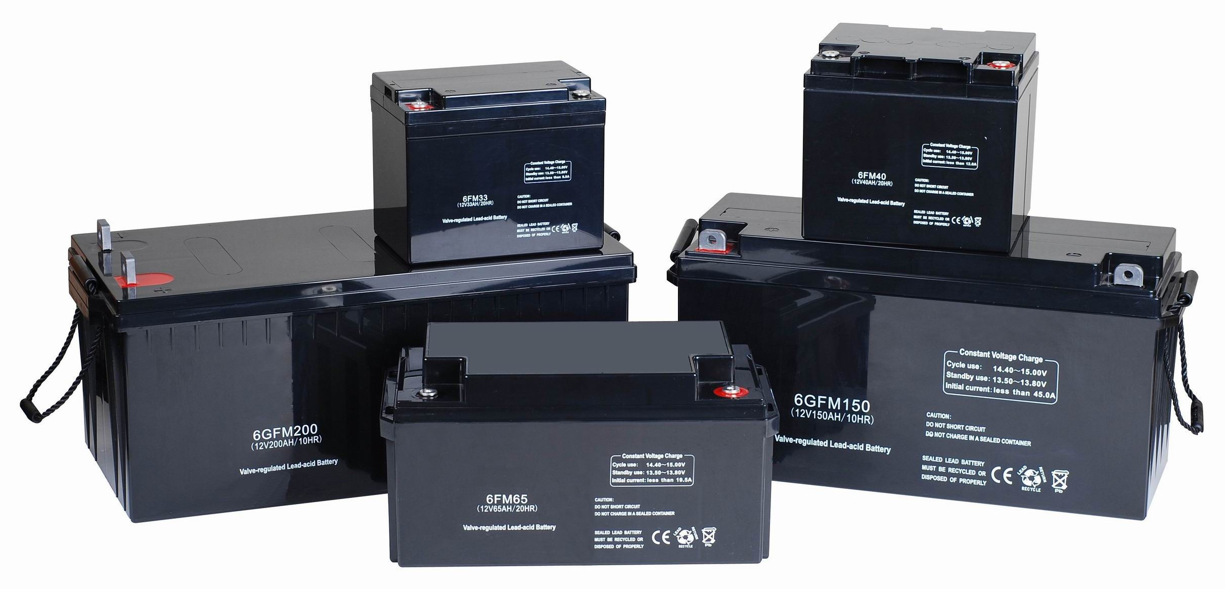 Solar Power Batteries From 12v To 48v - Calcium Batteries & Deep Cycle ...