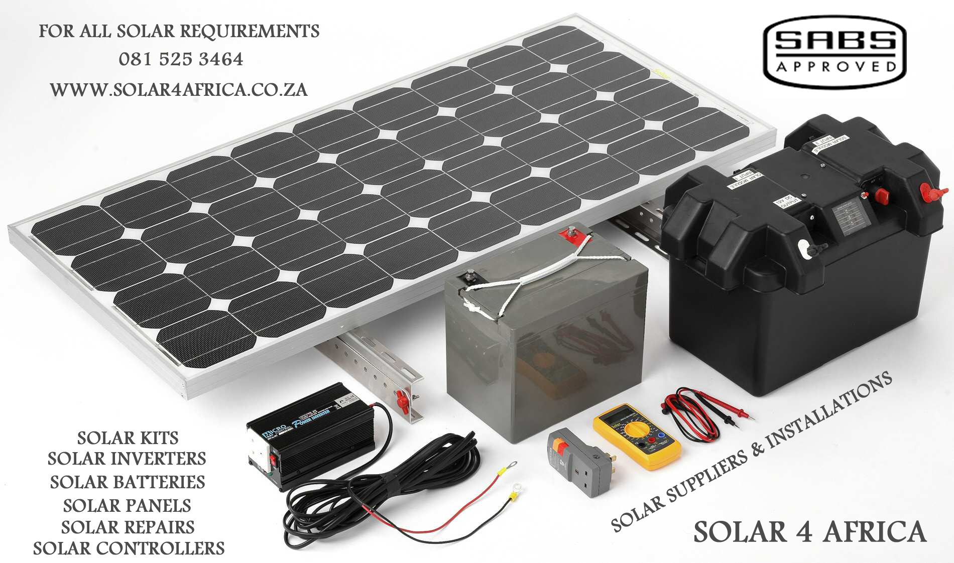 Solar 4 Africa 081 525 3464 Solar Power For Home Amp Business Use In South Africa High